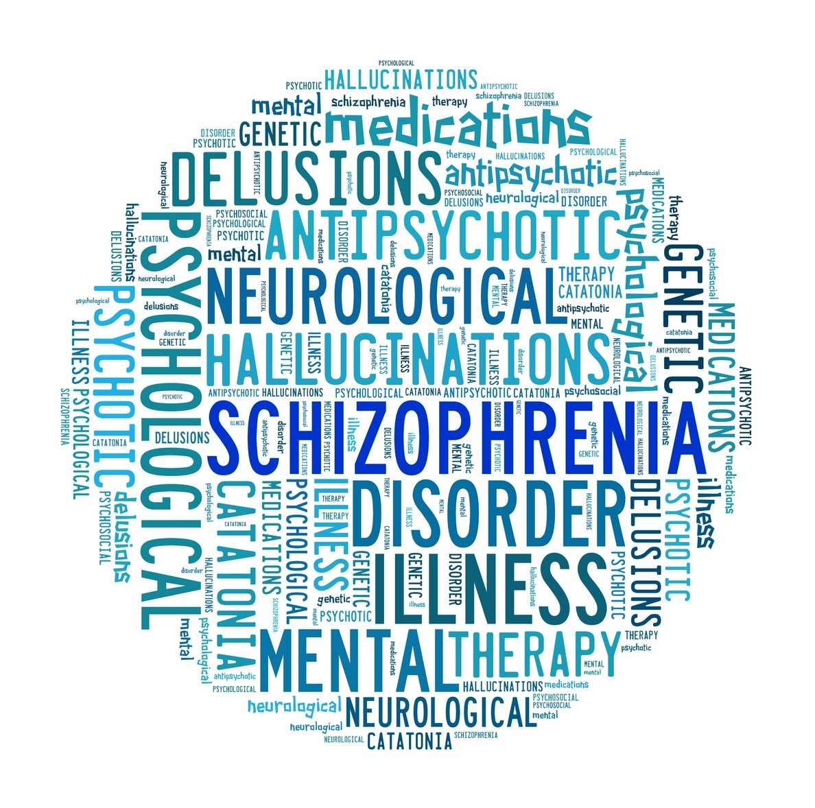 image showing the confusion of schizophrenia
