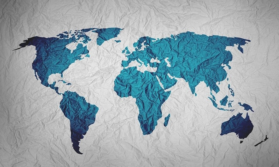 world map representing global markets and regulatory bodies